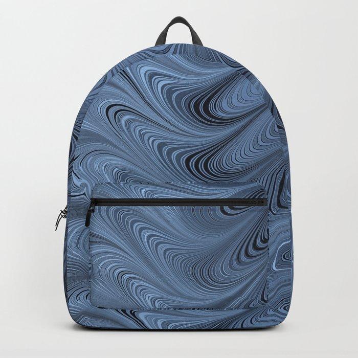 Blue Swirl Backpack