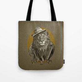 Jay the Lion - Hobo Tote Bag