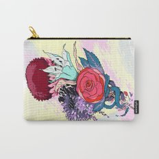Chrysanth Wisteria & Lily - & Rose  Carry-All Pouch