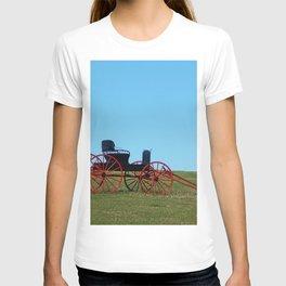 Horse Drawn Wagon T-shirt