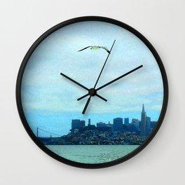 SF SKYLINE Wall Clock