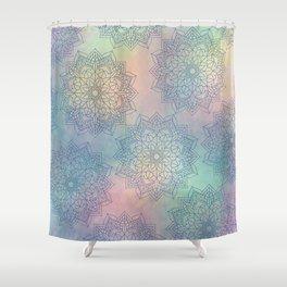 Pattern of Mandalas Shower Curtain