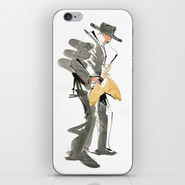Musician Jazz Saxophone iPhone Skin