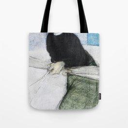 12,000pixel-500dpi - The girl at the gate I - Helene Sofia Schjerfbeck Tote Bag