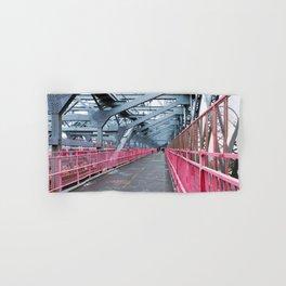 Across the Williamsburg Bridge Hand & Bath Towel