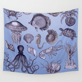 Marine Animals Wall Tapestry