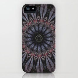 Purple Eye iPhone Case
