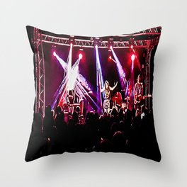 Music show Throw Pillow