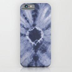 Tie Dye Navy iPhone 6s Slim Case