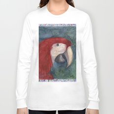 Red Macaw Long Sleeve T-shirt