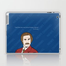 Ron Burgundy Anchorman  Laptop & iPad Skin