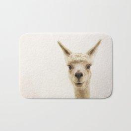 Alpaca Portrait Bath Mat