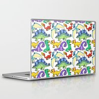 dinosaurs Laptop & iPad Skins featuring Dinosaurs!!!! by Morgan