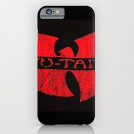 wu-tang red deep iPhone Case
