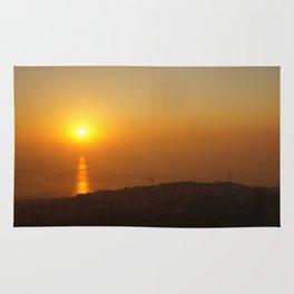 Sunset in Lebanon Rug