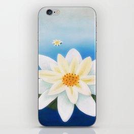 Floating Flowers iPhone Skin
