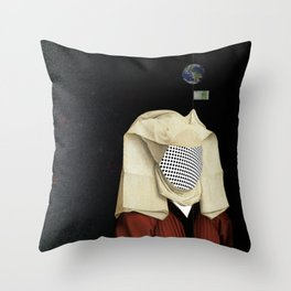 Verschiedene Gesichtspunkte Throw Pillow