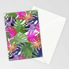 Monstera Glory Stationery Cards
