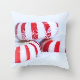 Hard Candy Christmas Throw Pillow