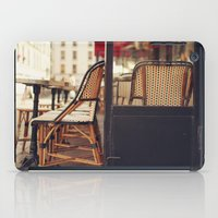 cafe iPad Cases featuring Paris Cafe by Nina's clicks