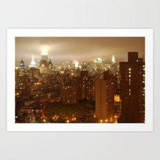 Gotham 1 Art Print