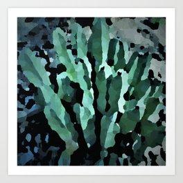 desert anenome Art Print