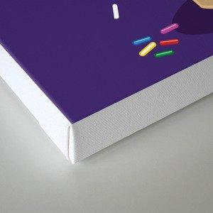 Ice Cream Coneover Canvas Print