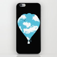 sky balloon iPhone & iPod Skin