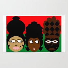 bbnyc 3 african women Rug