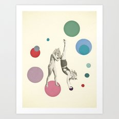 Horsing Around Art Print