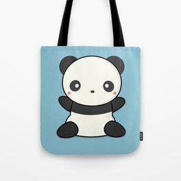 Kawai Cute Hugging Panda Tote Bag