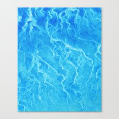Sea Blue Meditation Canvas Print