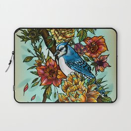 Birdsong by artist Sarah Bliss Rasul Laptop Sleeve