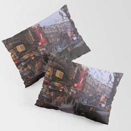Piccadilly London Kodachrome Pillow Sham