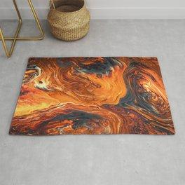 Lava Art Rug
