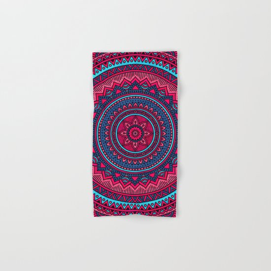 Hippie mandala 46 Hand & Bath Towel