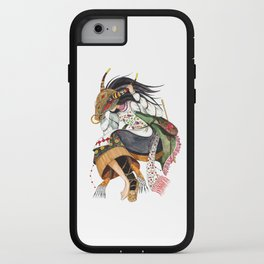Pagan warrior iPhone Case