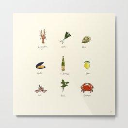 Summer kitchen Metal Print