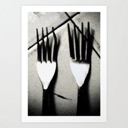 Eat More! Art Print