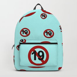 K-Poppin: Rated 19 Backpack