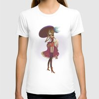 pin up T-shirts featuring Pin up by paul drouin