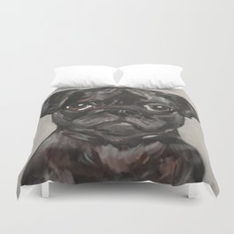 Art for Dog Lovers / Nursery Decor - Puggle Pup Duvet Cover