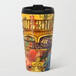 A Town Called Morteville Metal Travel Mug