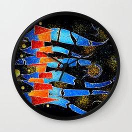 Vislepthonus V1 - abstract scorpion Wall Clock