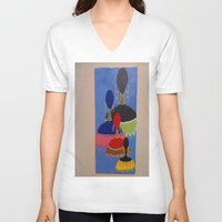 soul V-neck T-shirts featuring Soul by tmens