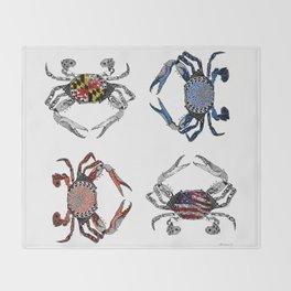 Ol' Crabs Throw Blanket