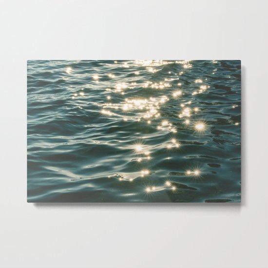 Ocean Sparkle Metal Print