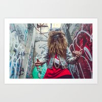 Wookie Boogie I Art Print