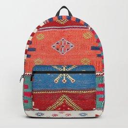 Kurdish Malatya East Anatolian Saf Kilim Print Backpack