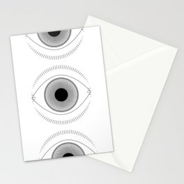 Aware, No. 2 (on White) Stationery Cards